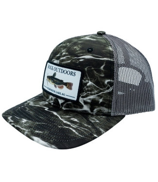 Rock Outdoors Rock Outdoors Catfish HRL Mid Profile Printed Trucker Hat (3 Colors)