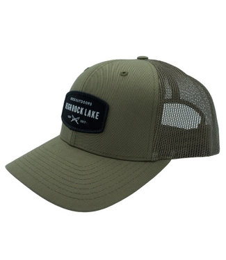 Rock Outdoors Rock Outdoors Crossed Rods Patch Mid Profile Trucker Hat