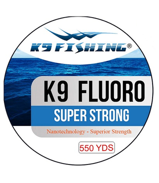 K9 Fishing K9 Fluoro Line Super Strong (Clear) - 550 Yards