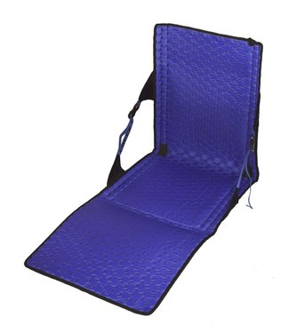 Crazy Creek Crazy Creek Hex 2.0 Longback Chair - Black/Royal Blue