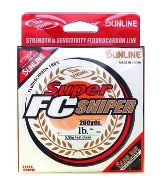 Sunline Fishing Sunline Super FC Sniper Fluorocarbon (Clear) - 200 Yards