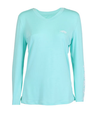 Aftco Aftco Women's Jigfish LS Performance Shirt