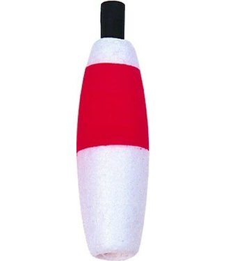"""Billy Boy Foam Cigar Peg Float 2 1/2"""" (Red/White)"""