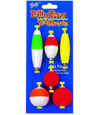 Billy Boy 94 Weighted Snap-On Float Assorted, 6 Pack