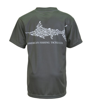 Aftco Aftco YTH Jigfish SS Performance Tee