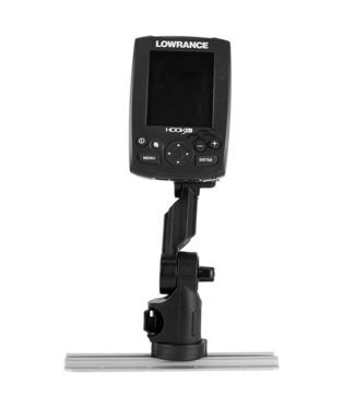 YakAttack YakAttack Lowrance® Fish Finder Mount with Track Mounted LockNLoad™ Mounting System