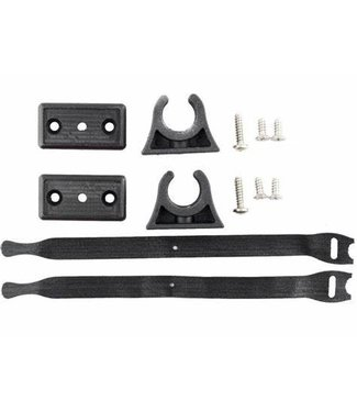 YakAttack YakAttack Deluxe ParkNPole™ Clip Kit with Anti-Pivot Mounting Base and Security Straps