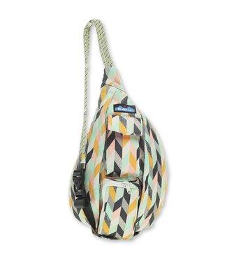 Kavu Kavu Mini Rope Sling Bag  Chevron Sketch