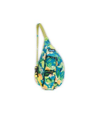Kavu Kavu Mini Rope Sling Bag  Ocean Citrus
