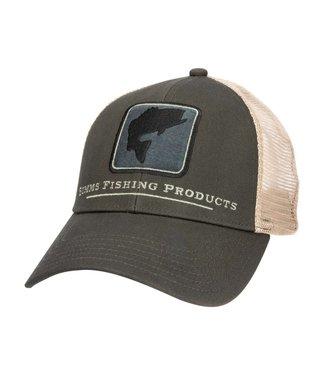 Simms Simms Bass Icon Trucker Hat Foliage