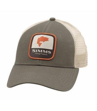 Simms Simms Bass Patch Trucker Hat