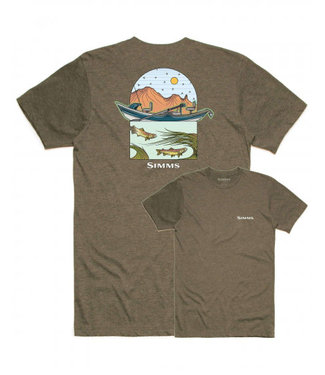 Simms Simms M's Underwood River Tee Olive Heather