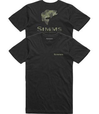 Simms Simms Bass Pine Camo T-Shirt