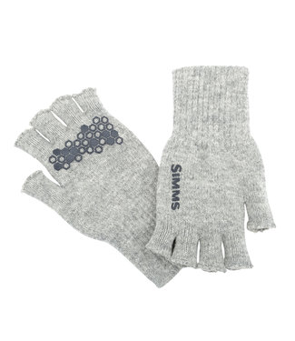 Simms Simms Wool Half Finger Gloves