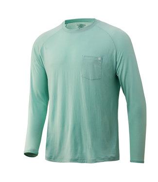 Huk Huk Waypoint LS Performance Shirt Lichen (333)