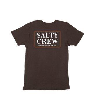 Salty Crew Salty Crew Deckhand SS Tee Black
