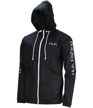 Huk Huk Breaker Jacket Black
