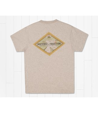 Southern Marsh Southern Marsh Southern Traditions Morning Rise Washed Oatmeal SS Tee