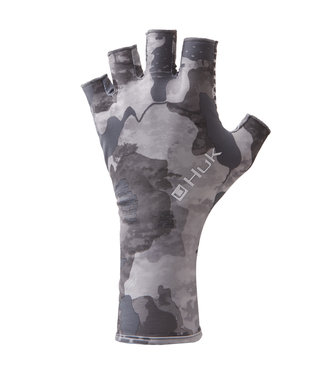 Huk Huk Mossy Oak Refraction Sun Glove
