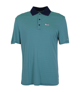 Aftco Divot Perf Polo Midnight