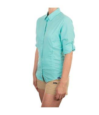 Aftco Aftco Women's Wrangle LS Shirt Mint