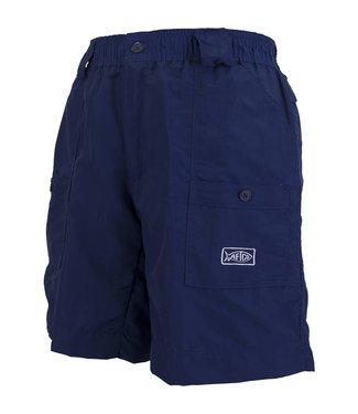 Aftco Navy Long Fishing Shorts
