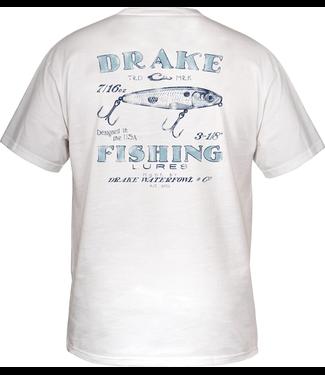Drake Drake DPF Topwater SS Tee White
