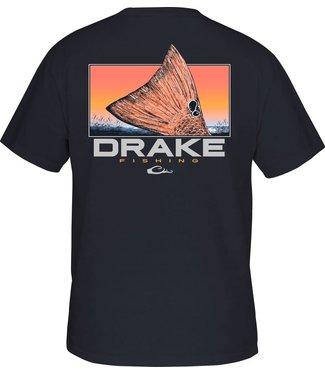 Drake Drake DPF Red Tail SS Tee Navy