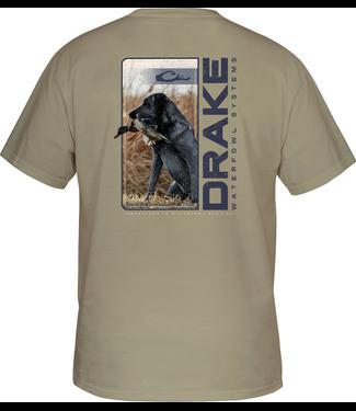 Drake Drake Live Retrieve SS Tee Sandstone