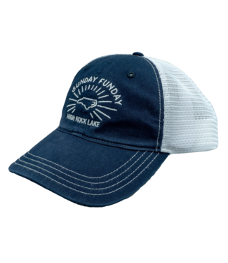 Rock Outdoors Rock Outdoors Sunday Funday Garment Washed Trucker Hat Navy/White