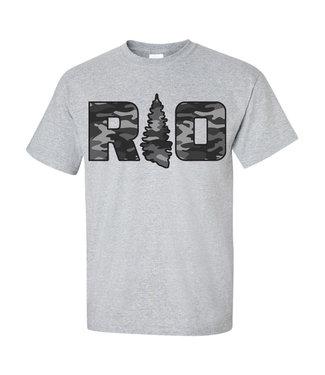 Rock Outdoors Rock Outdoors RO Grey Camo Sport Grey SS Tee