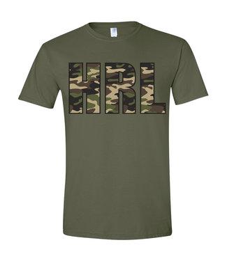 Rock Outdoors Rock Outdoors HRL Camo Military Green SS Tee
