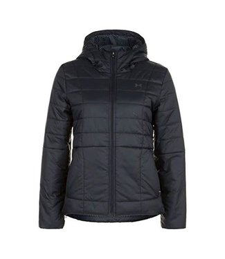 Under Armour Women's Armour Insulated Hooded Jacket Black / Jet Gray