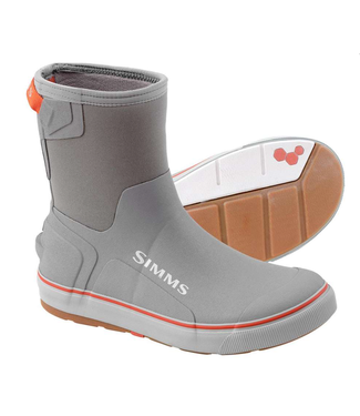 """Simms Simms Challenger Pull On Boots 9"""" Smoke"""
