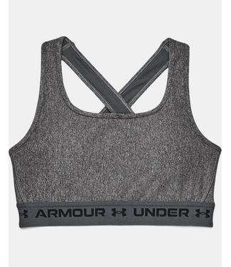 Under Armour Crossback Mid Heather Bra