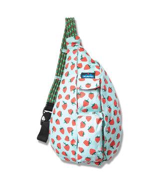 Kavu Kavu Rope Bag Strawberry Patch