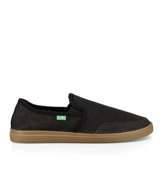 Sanuk Sanuk Vagabond Slip-On Sneaker Black/Gum