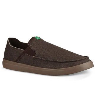 Sanuk Sanuk Pick Pocket Slip-On Sneaker Dark Brown