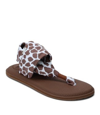 Sanuk Sanuk Yoga Sling 2 Prints Giraffe