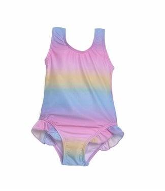 Flap Happy Flap Happy UPF 50+ Delaney Hip Ruffle Swimsuit