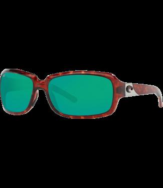 Costa Isabela 10 Tortoise w/ Copper Green Mirror 580P