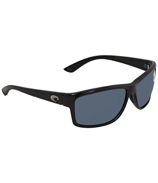 Costa Mag Bay Shiny Black Gray 580P