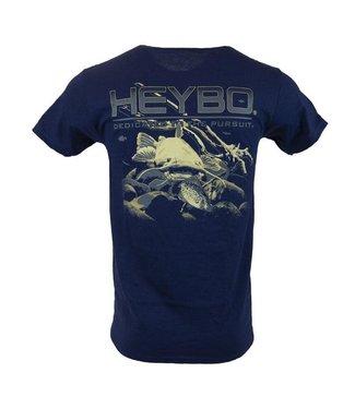 HEYBO Heybo Flathead Catfish Athletic Navy SS Tee