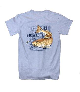 HEYBO Heybo Red Drum Silver SS Tee