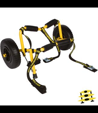 """Suspenz Suspenz Stowable Kayak """"SK"""" Airless Cart"""