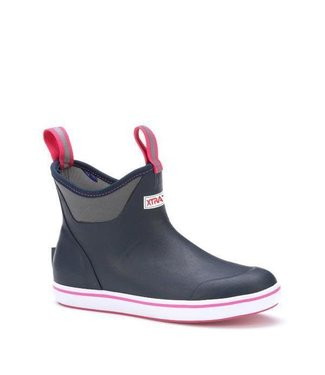 Xtratuf Xtratuf Women's Navy/Pink Ankle Deck Boots