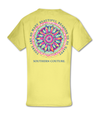 Southern Couture Southern Couture Classic Beautiful Reasons SS Tee Cornsilk