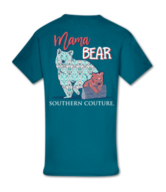 Southern Couture Southern Couture Pattern Mama Bear SS Tee