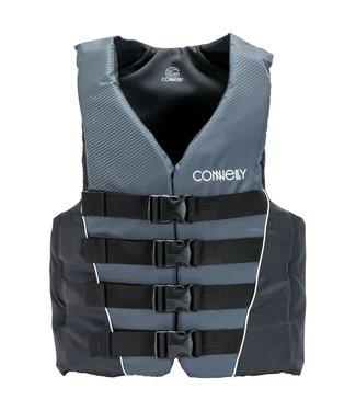 Connelly Connelly Men's 4B Nylon Vest Blk/Grey
