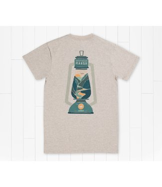 Southern Marsh Southern Marsh Altitude Lantern SS Tee Washed Oatmeal